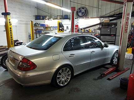 Mercedes car repair