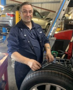 Tyre replacement at Euromotors