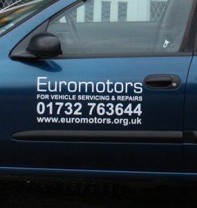 Euromotors courtesy car